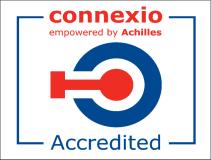 Wir sind registriert als Lieferant und Ausführer bei Connexio