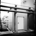 Begehbare Isolierung mit eingetzter Tür für Revesionsarbeiten
